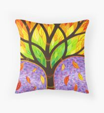 Autumn- Releasing the Old Throw Pillow