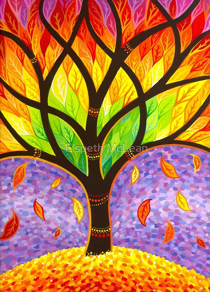 Autumn- Releasing the Old by Elspeth McLean