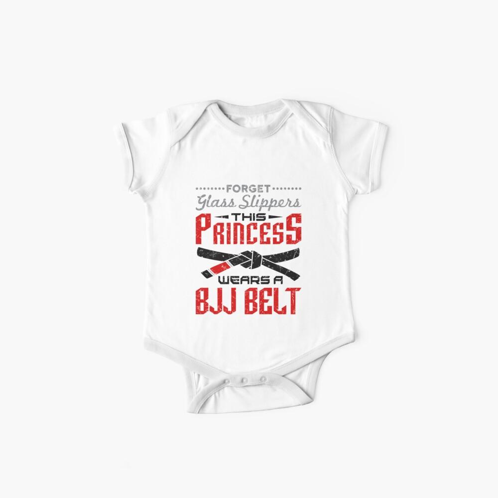 Jiu Jitsu Girl Gifts - Olvídate de las zapatillas de vidrio BJJ Belt Body para bebé