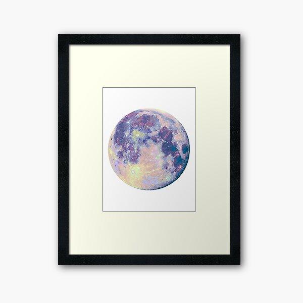 Mond Gerahmter Kunstdruck