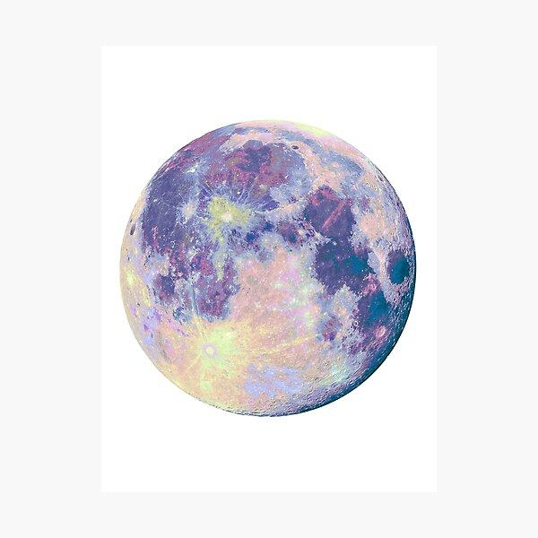 Luna Lámina fotográfica