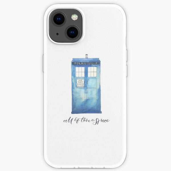 All of Time & Space iPhone Soft Case