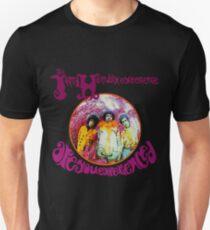 Der purpurne Dunst Unisex T-Shirt