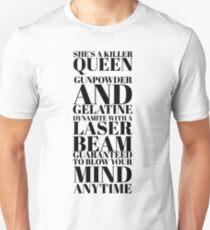 Camiseta unisex Reina Asesina