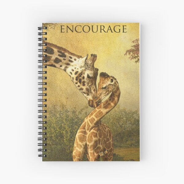 Encourage Spiral Notebook