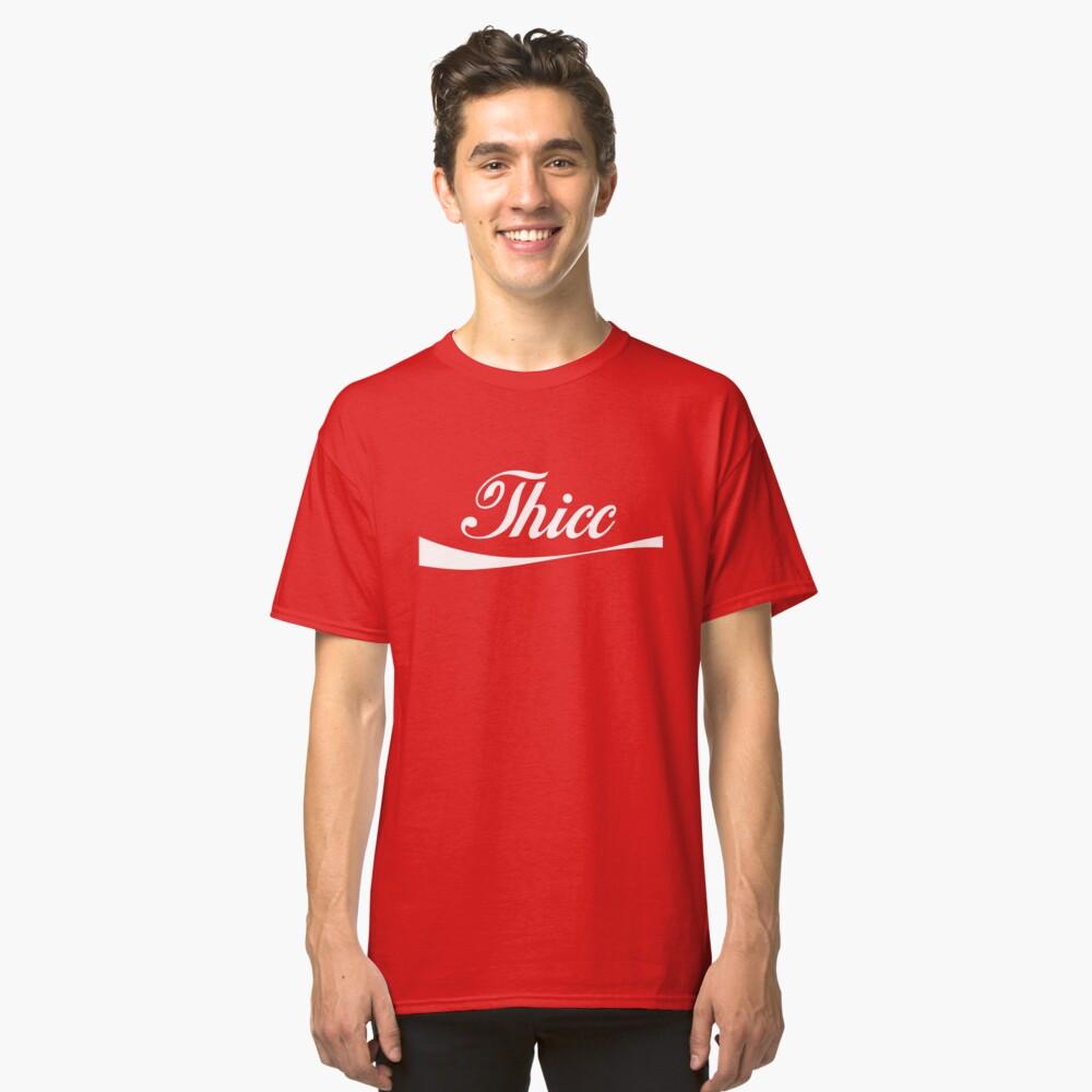 """Logo de Coca-Cola """"Thicc"""" Camiseta clásica"""