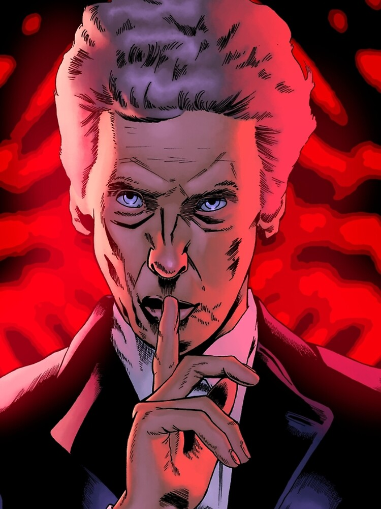 12th Doctor by CharlieKirchoff