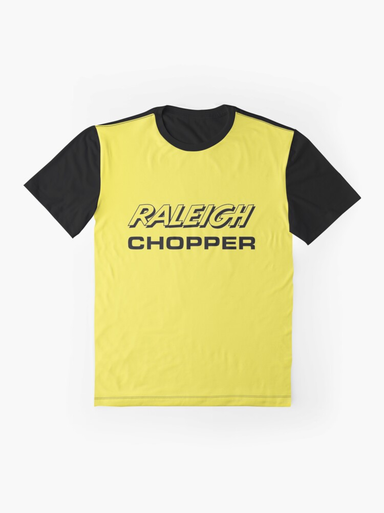 Alternate view of Raleigh Chopper old style logo (as seen above the rear reflector) Graphic T-Shirt
