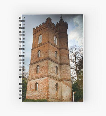 Gothic Tower Spiral Notebook