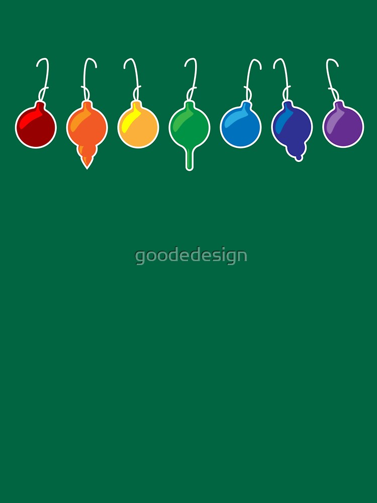 What color is your xmas ornament by goodedesign