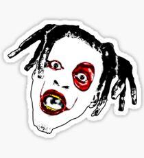 Denzel Curry - CLOUT COBAIN Sticker Sticker