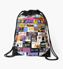 MUSICALS! (Duvet, Clothing, Book, Pillow, Sticker, Case, Mug etc)  Drawstring Bag