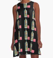 HARE SPRAY  A-Line Dress