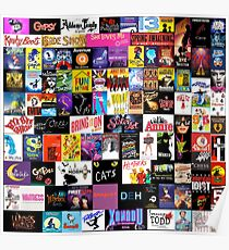 MUSICALS! (Duvet, Clothing, Book, Pillow, Sticker, Case, Mug etc)  Poster