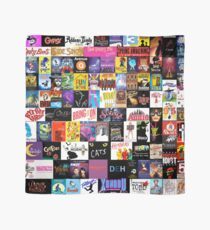 MUSICALS! (Duvet, Clothing, Book, Pillow, Sticker, Case, Mug etc)  Scarf