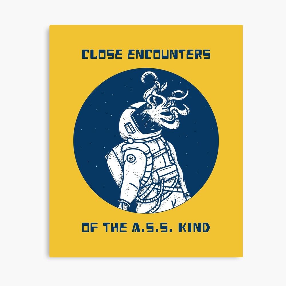 Close encounters Canvas Print