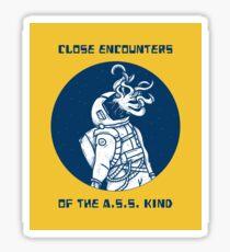 Close encounters Sticker