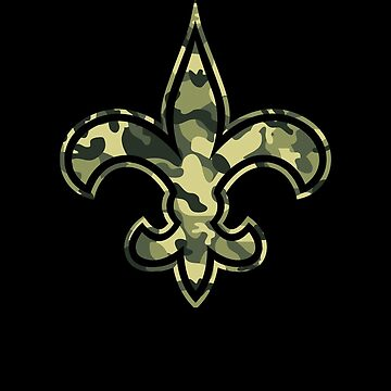 New Orleans CAMO Fleur De Lis by TeeCreations