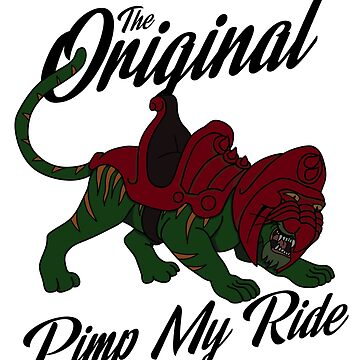 He-man Battlecat - The Original Pimp My Ride by landobry