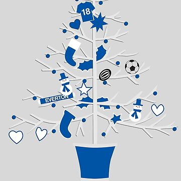 Everton Christmas by kcgfx