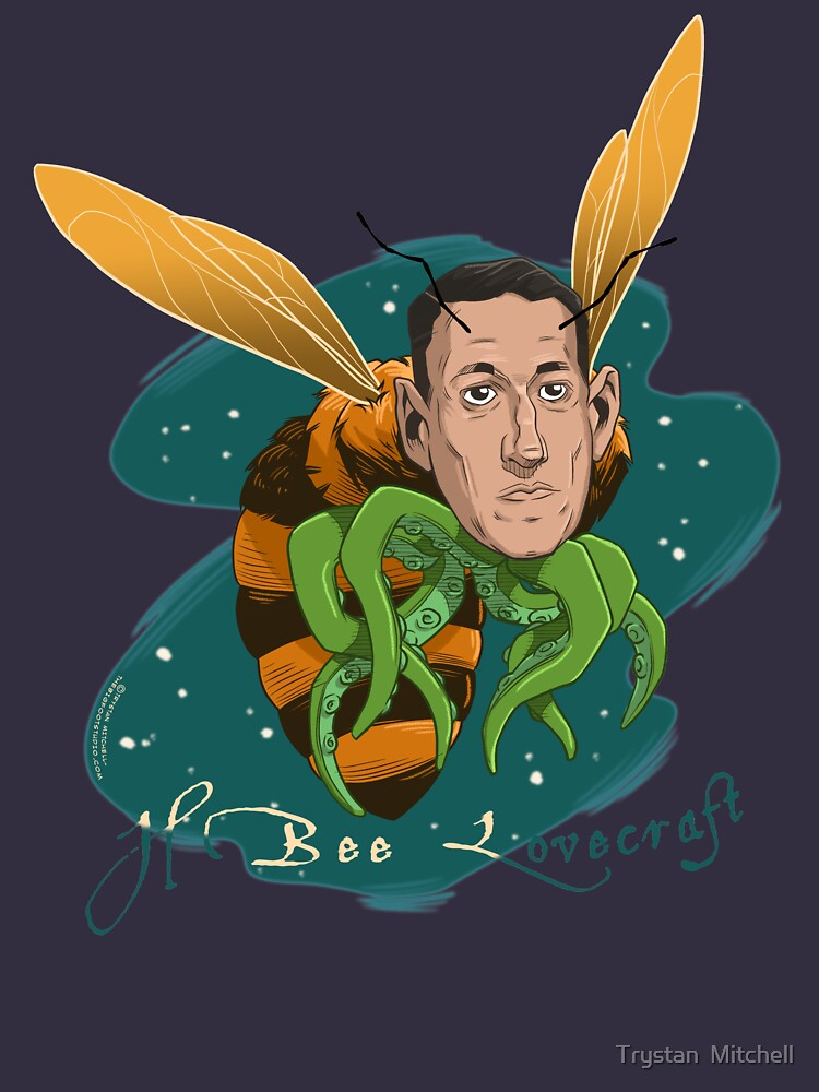 H Bee Lovecraft by Trystan