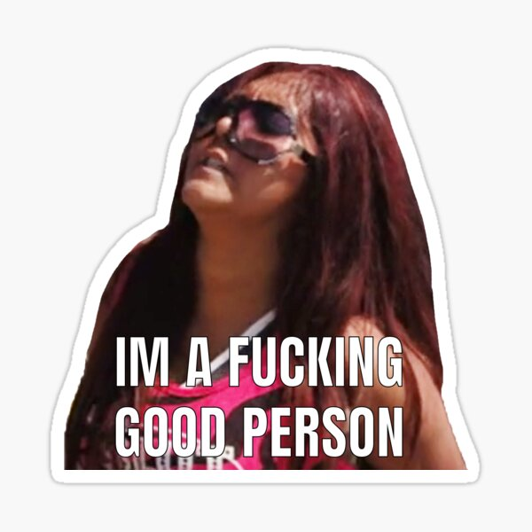 SNOOKI GETTING ARRESTED  Sticker
