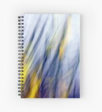 An April Afternoon Abstract Impressionism Spiral Notebook