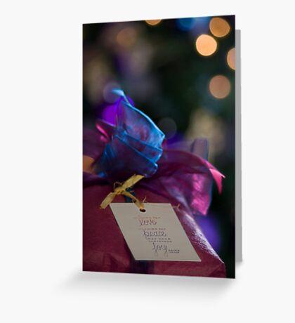 love peace joy Greeting Card