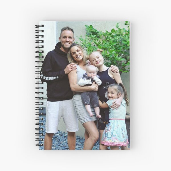 Family fizz - youtuber - TOBY  Spiral Notebook