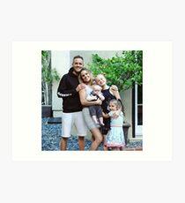Family fizz - youtuber - TOBY  Art Print