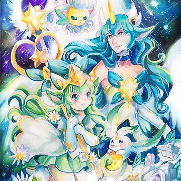 soraka and lulu star guardian by yami11