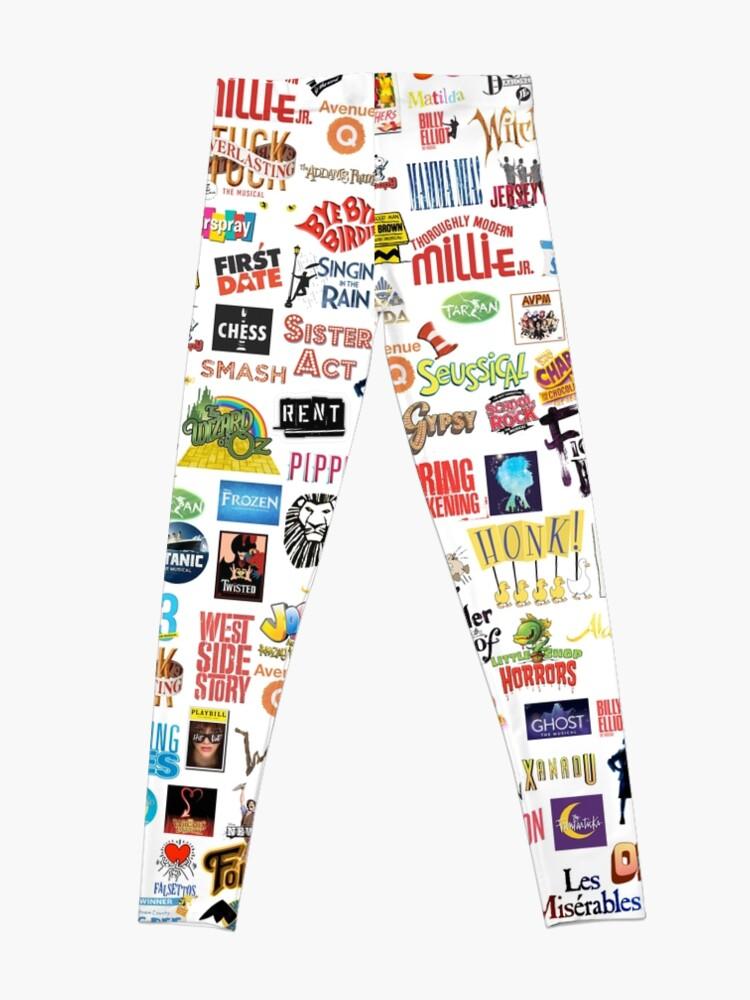 Alternate view of Musical Logos Leggings