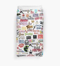 Musikalische Logos (Etuis, Bettdecken, Bücher, Kleidung usw.) Bettbezug