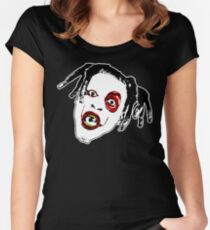 Denzel Curry - CLOUT COBAIN Apparel, Decor, etc. Women's Fitted Scoop T-Shirt
