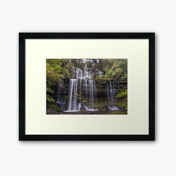 Russell Falls Framed Art Print