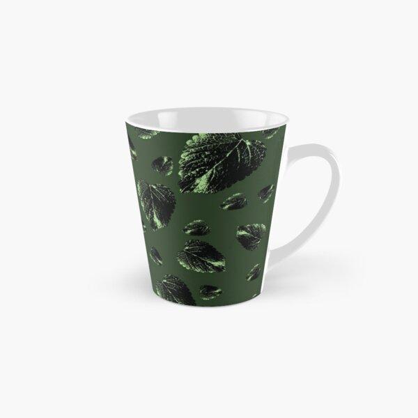 Forest Green Velvet Fall Tall Mug