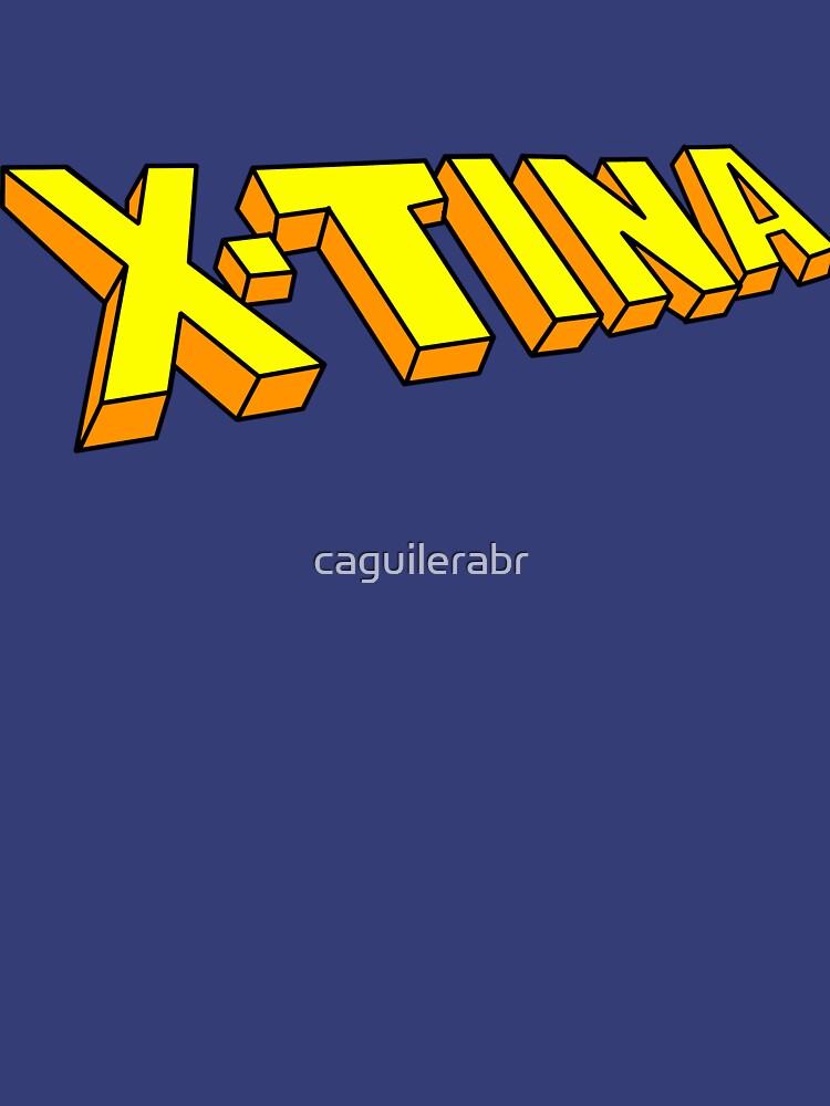 X-Tina Logo by caguilerabr