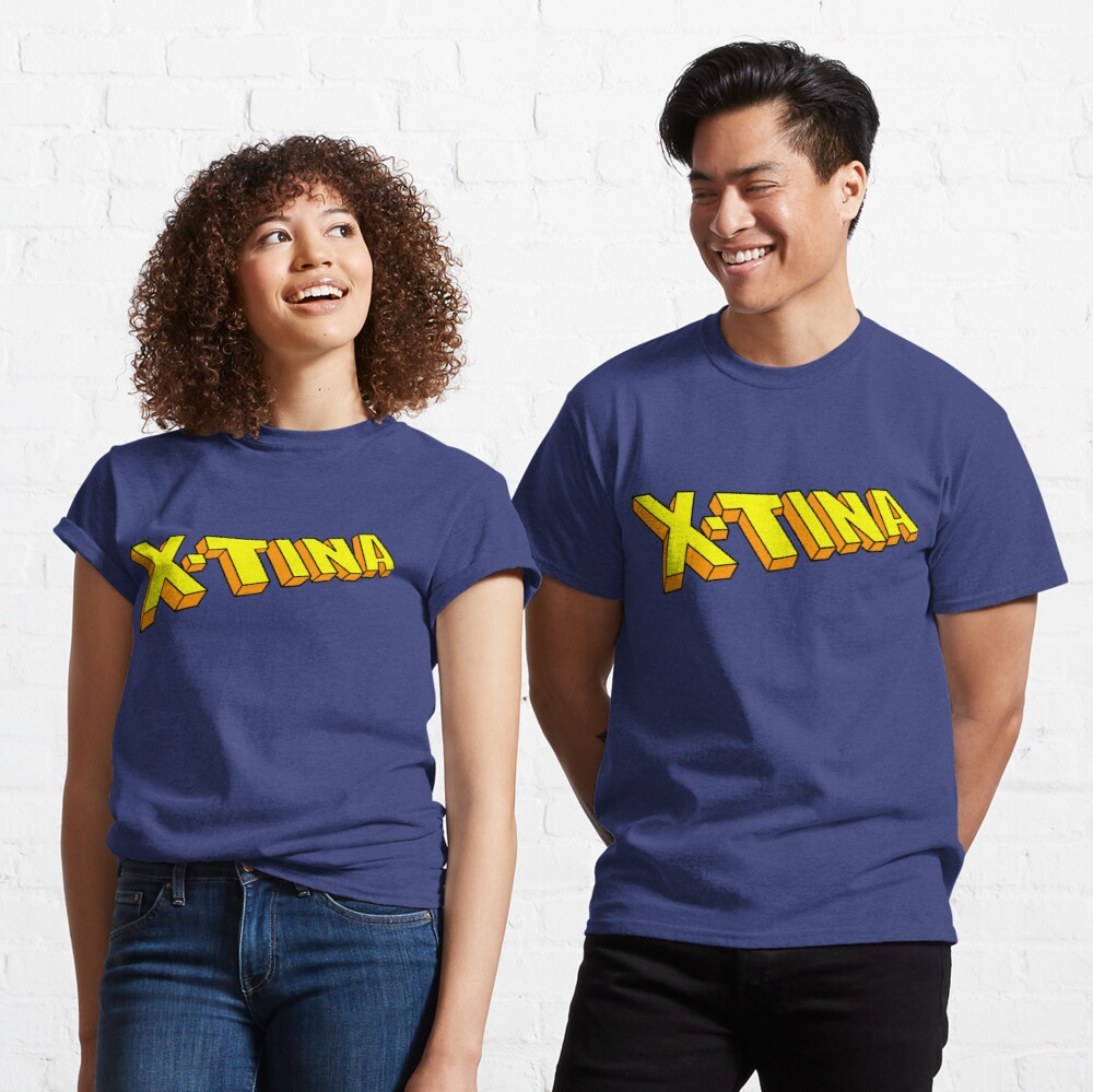 X-Tina Logo Classic T-Shirt