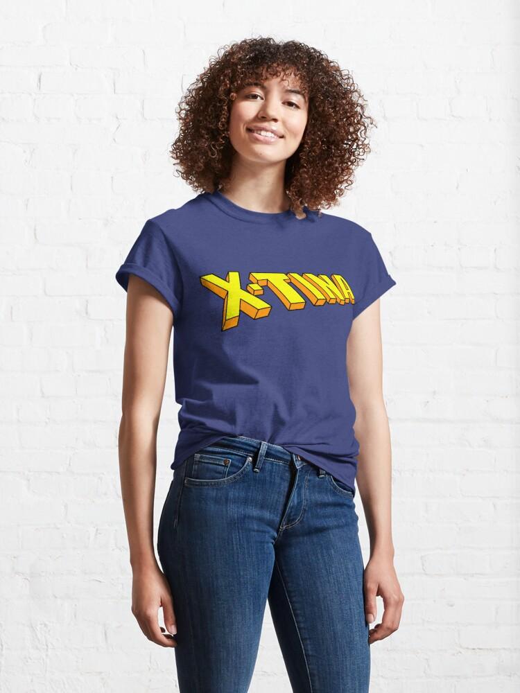 Alternate view of X-Tina Logo Classic T-Shirt