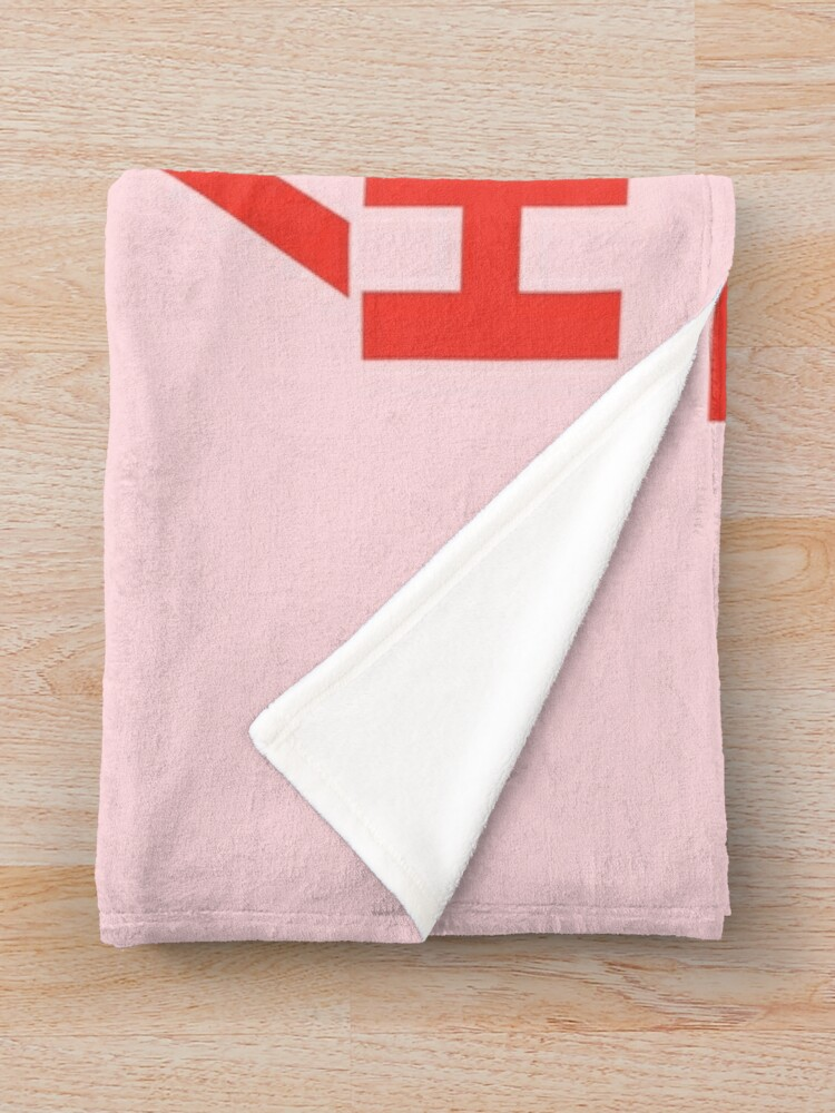 Alternate view of Well Behaved Women Seldom Make History (Pink & Red Version) Throw Blanket