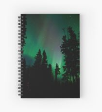 The Get out of Bed Honey the Auroras are Out #2 Spiral Notebook