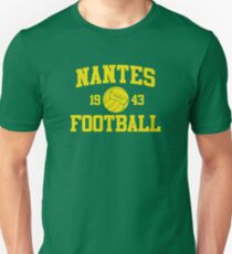 Nantes Football Athletic College Style 2 Color T-Shirt