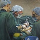 Vascular Surgery - Oil on Canvas by Avril Thomas by AvrilThomasart