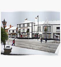 SNOW IN POULTON-LE-FYLDE . Poster