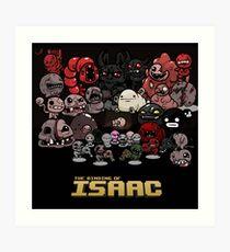 The Binding of Isaac  Art Print