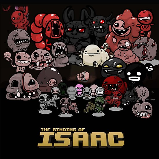 """The Binding Of Isaac "" Poster By Snesky"