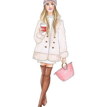 winter girl by reyniramirezfi