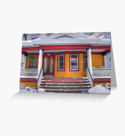 Brooklyn House Greeting Card