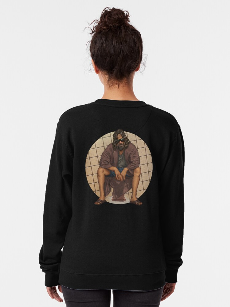 Alternate view of The Dude - The Big Lebowsky Pullover Sweatshirt