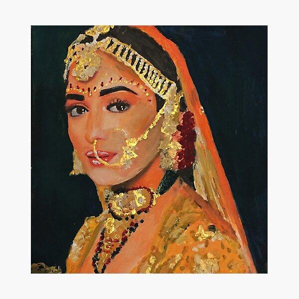 Madhuri Photographic Print
